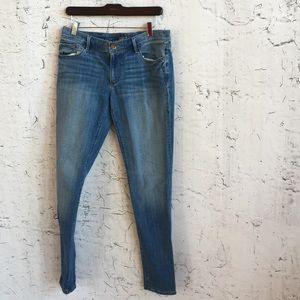 ANN TAYLOR LOFT 24/7 RELAXED SKINNY JEANS 27